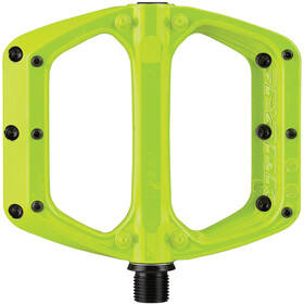 Spank Spoon DC Flat Pedal, Lime Green